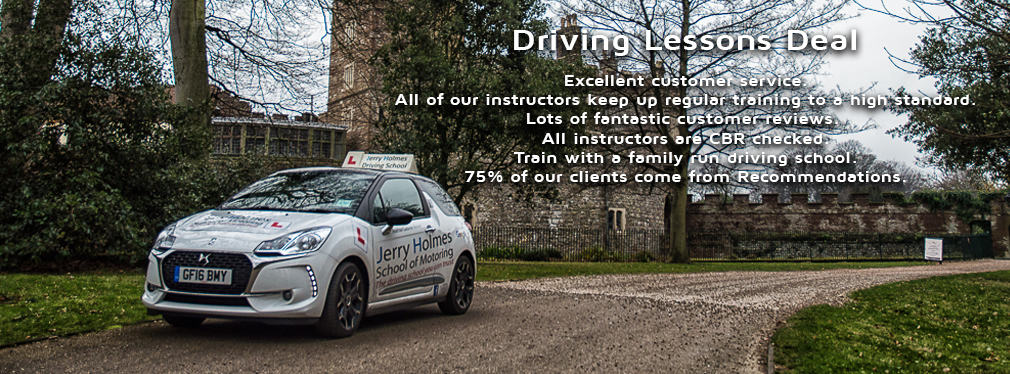Driving Lessons Deal