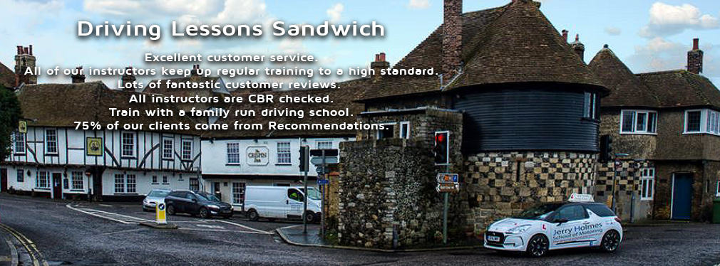 Driving Lessons Sandwich