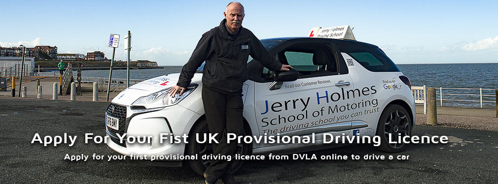 apply for your first uk provisional driving licence