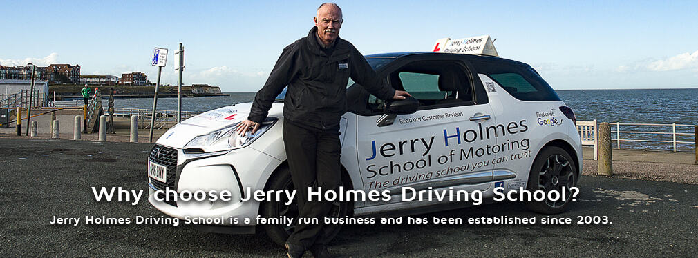 Why choose Jerry Holmes Driving School