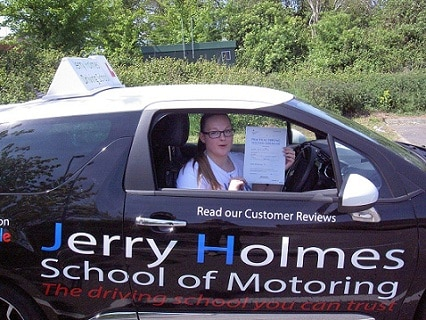 Congratulations to Ashleigh Thurman Newell of Broadstairs Driving Lesson